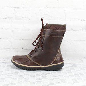 LL Bean Women's Tek 2.5  Waterproof Boots Size 7 M